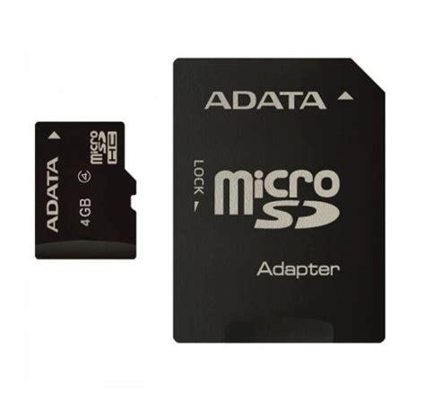 Micro Sd Adata memoria micro sd 4gb adata clase 4 precio especial mayoreo 89 00 en mercado libre