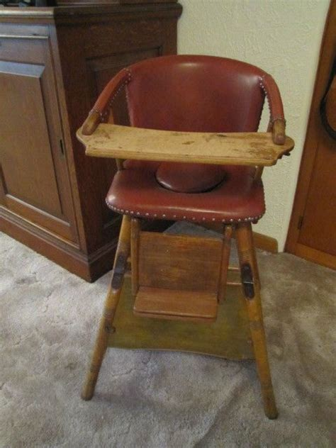 high chair converts to table and chair antique vintage german baby high chair converts to table