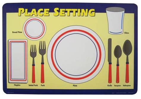 place setting placemat 031088 details rainbow resource center inc