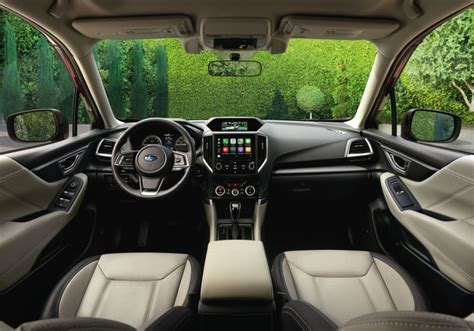 2019 Subaru Forester Interior by All New Fifth Generation 2019 Subaru Forester