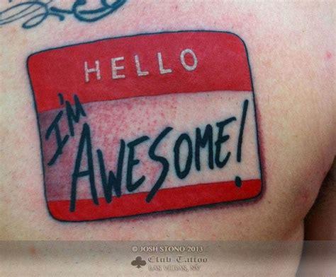 tattoo name tag joshstono name tag
