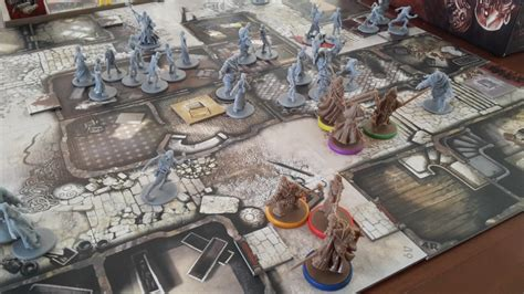 Zombicide Black Plague Board Original Boardgame zombicide black plague de spelvogel
