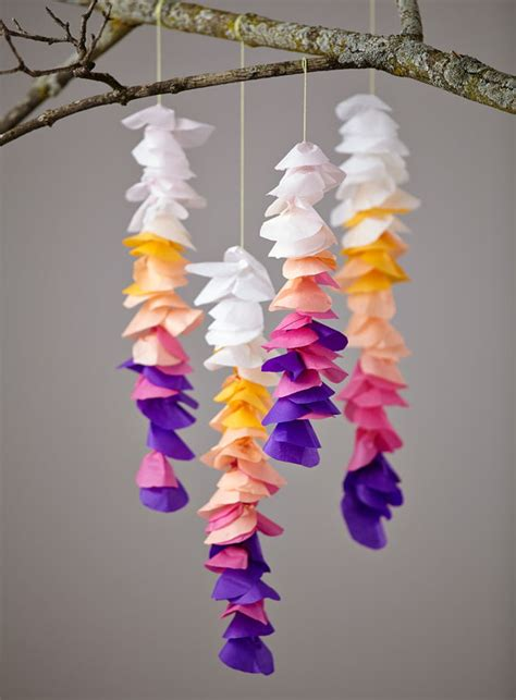 How To Make Decorations Out Of Tissue Paper - 50 extraordinary beautiful diy paper decoration ideas