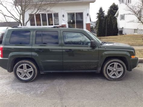 2007 Jeep Patriot Limited Sell Used 2007 Jeep Patriot 4x4 Limited Sport Utility 4