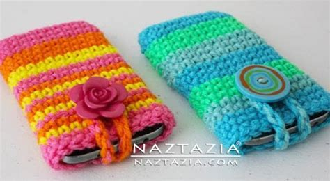 holder pattern in android crochet cell smart phone case holder by donna wolfe from