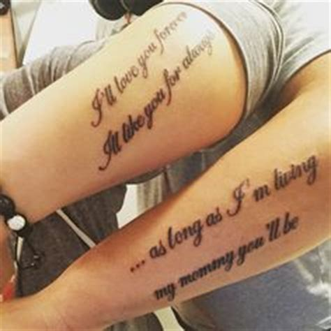 mother son matching tattoos and tattoos and body art on