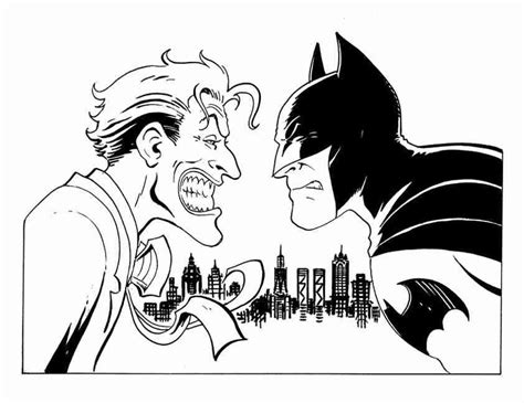 coloring pages of batman and joker coloring pages batman and robin coloring home