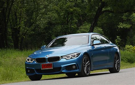 Bmw 430i Coupe Review by Bmw 430i Coupe M Sport 2017 Review Bangkok Post Auto
