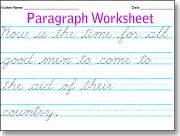 make beautiful cursive handwriting worksheets