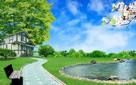 wallpaper dapur dapur ludy pleasant green sky background
