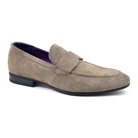 suade loafers buy mens taupe suede loafers mens loafers gucinari