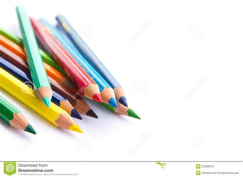 color pencils background stock photo image  craft