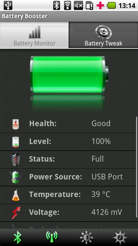 battery booster for android battery booster free android app android freeware