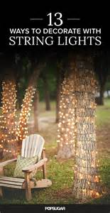 how to string lights on tree 17 best ideas about lights in trees on