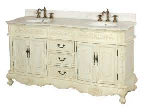 antique white bathroom vanity