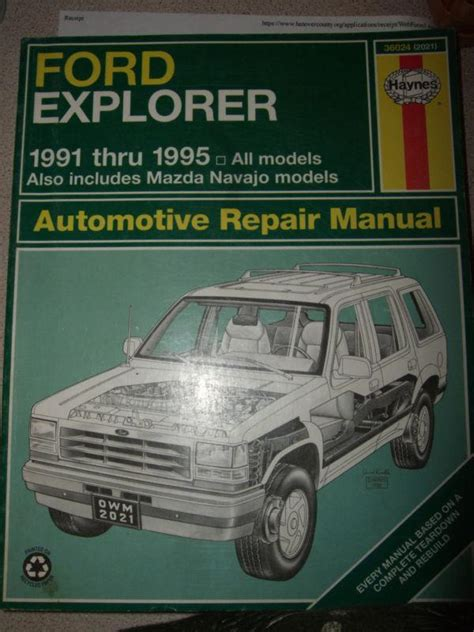 service manual 1991 ford explorer manual free haynes car manual ford explorer 1991 2000 service manual haynes repair manual 1991 1995 ford explorer mazda used ford explorer mazda