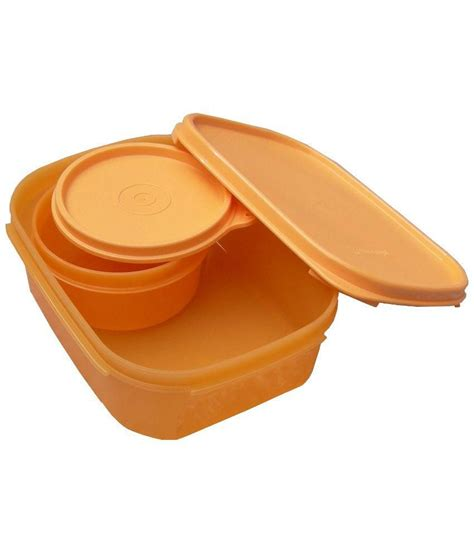 Tupperware Rectangular tupperware rectangular lunch box buy at best price in india snapdeal
