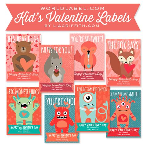 valentines day label templates worldlabel blog