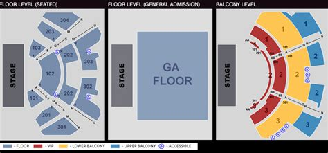 club nokia seating chart seating chart the novo