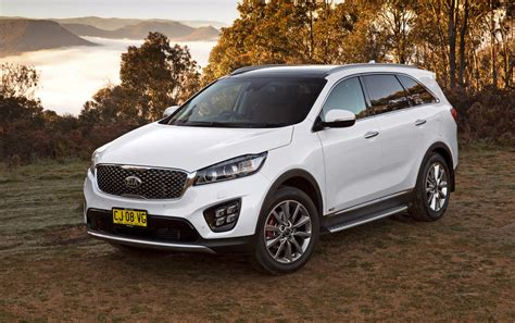 Kia Sorento News Updated 2017 Kia Sorento Adds Gt Line Flagship
