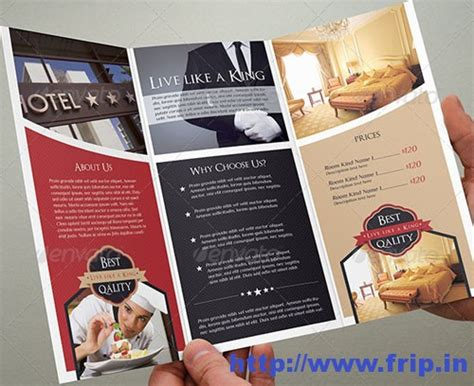 hotel brochure template 50 best hotel brochure print templates 2016 frip in