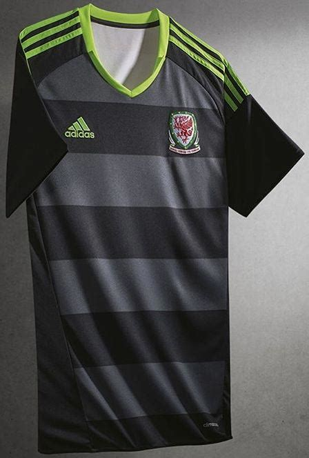 Jerey Wales Away all adidas 2016 home and away kits launched footy headlines