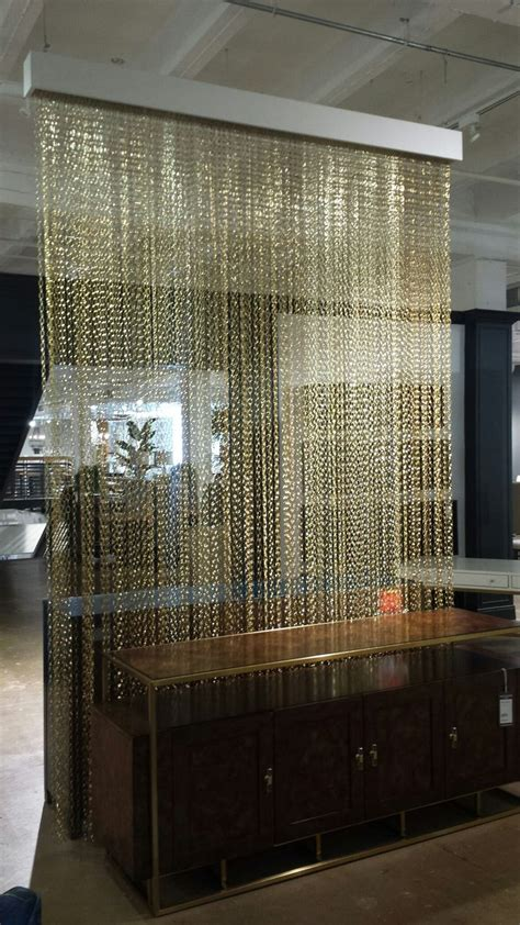 chain curtain room divider best 25 room divider curtain ideas on pinterest curtain
