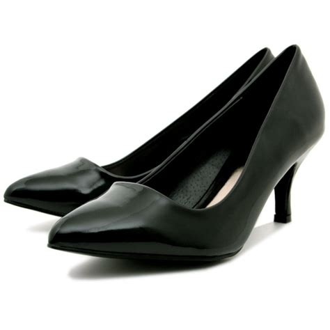 heeled shoe buy patent suede style kitten heel pointy toe court shoes