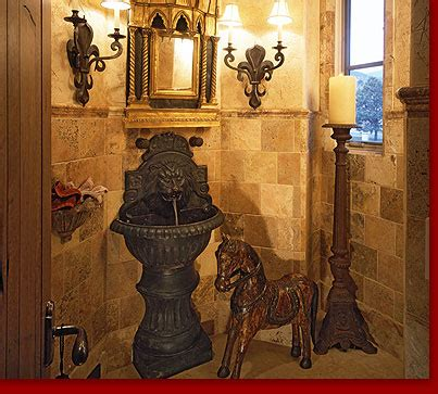 RTI : : Tuscan Villa Powder Room