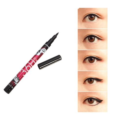 Eyeliner Liquid Wardah Waterproof black waterproof liquid eyeliner pen lasting eyeliner