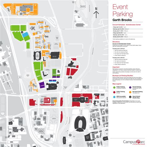 map of ohio state cus osu parking map cus map osu my osu parking map osu wexner