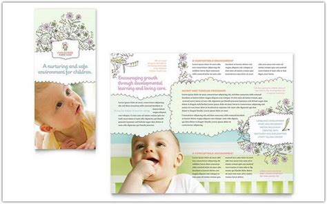 23 best child care brochure templates web resources free