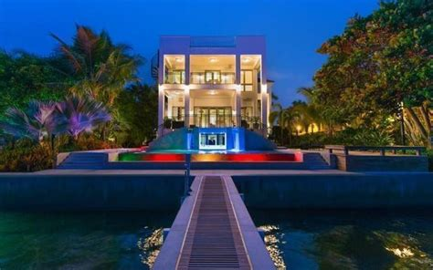 lebron james miami house inside 10 insane celebrity homes financebuzz