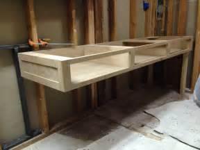 build a floating vanity master floating vanity ideas on pinterest diy floating vanity building a floating bathroom