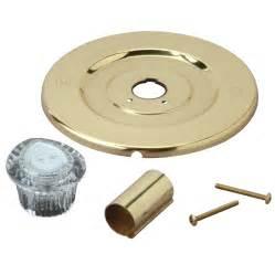 shop brasscraft brass tub shower trim kit at lowes