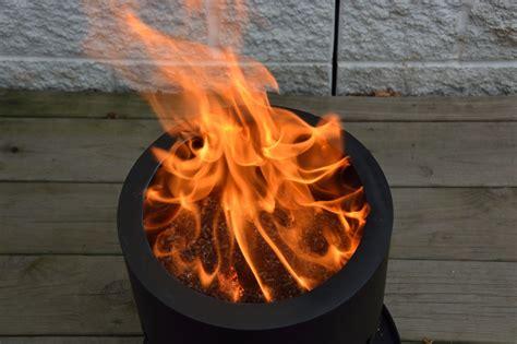 smokeless wood pellet pit pellet pit