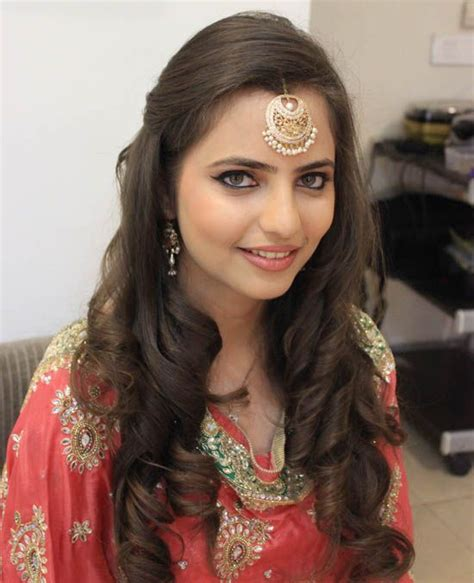 indian hairstyles open hair look best different cute hairstyles for function best