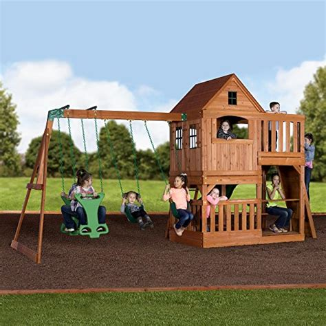 backyard discovery cedar view swing set 28 images