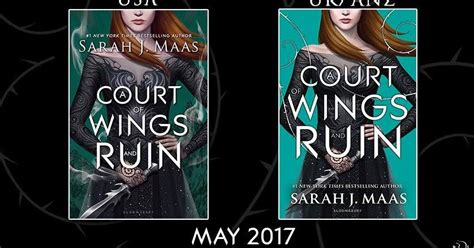 libro a court of wings los mil libros se revela la portada a court of wings ruin