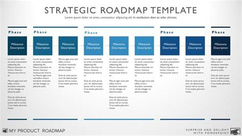 Nine Phase Business Timeline Roadmapping Presentation Template Digital Strategy Roadmap Template