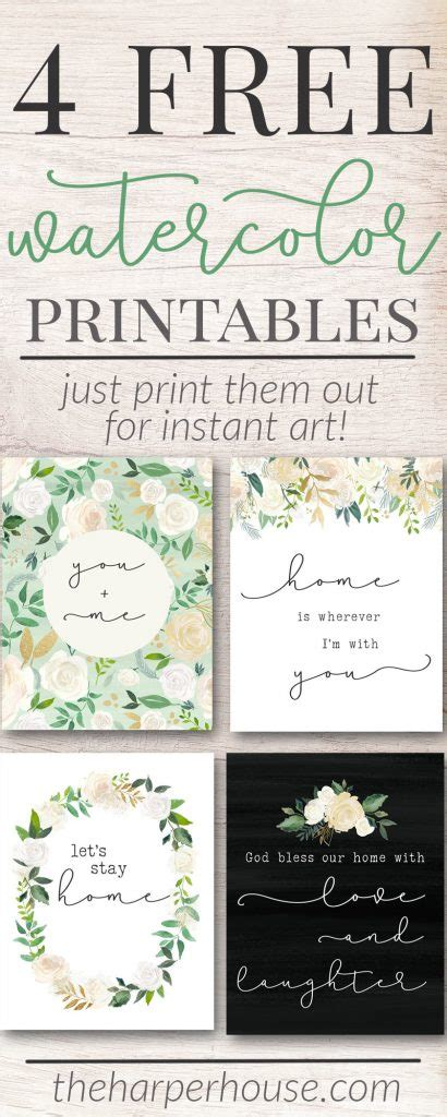 printables lets stay home  harper house