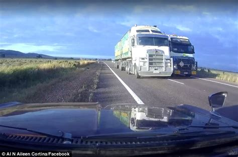 Truck Wheel Alignment Port Augusta Sa Driver Narrowly Avoids On Collision With Truck