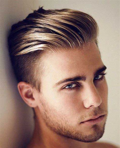hairstyles on top longer at back 30 cabelos masculinos com luzes fotos imagens passo a