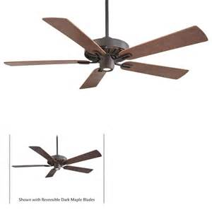 60 ceiling fan with light and remote minka aire f672 orb iconic rubbed bronze 60 quot ceiling