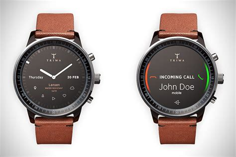 Smartwatch Triwa Triwa Smartwatch Concept By Gabor Balogh Hiconsumption