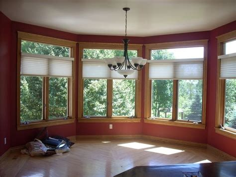 paint color for sunroom with oak trim for the home