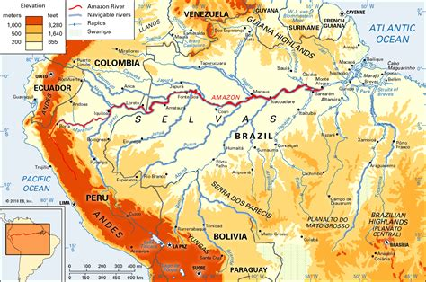 amazon map online maps amazon river map