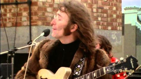 the beatles don t let me down rooftop the beatles don t let me down live 1969 hd youtube