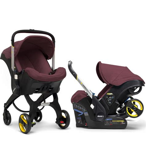doona infant car seat that converts to a stroller doona infant car seat cherry burgundy