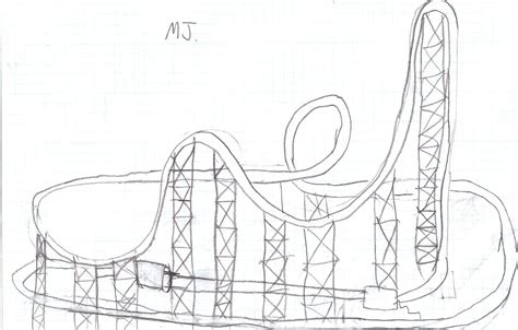 sketches making roller coasters for the future
